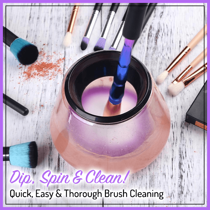 360° Electric Makeup Brush Cleaning Set