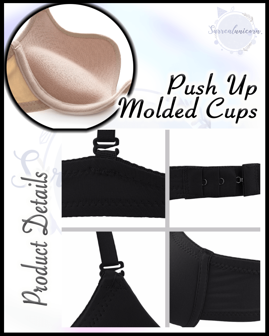 Seamless Multiway U Shape Push Up Bra