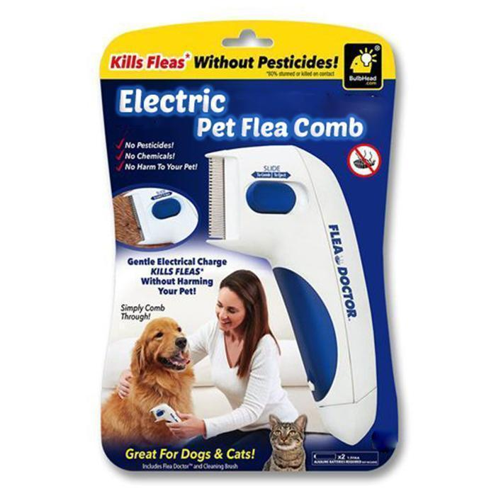 Electric Pet Flea Comb