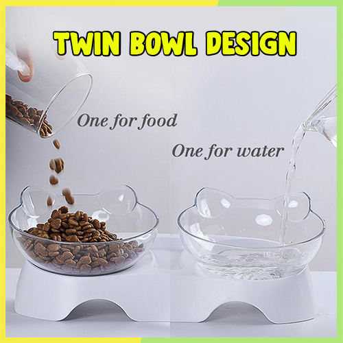 Adjustable Pet Feeding Bowl