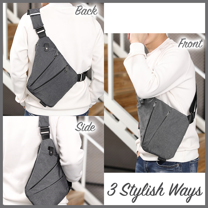 Ultra-Slim Anti-Theft Crossbody Bag