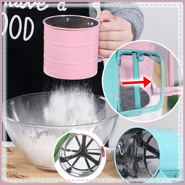 Powerful Handheld Flour Sifter
