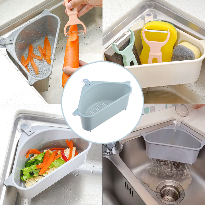Multipurpose Corner Basket Strainer