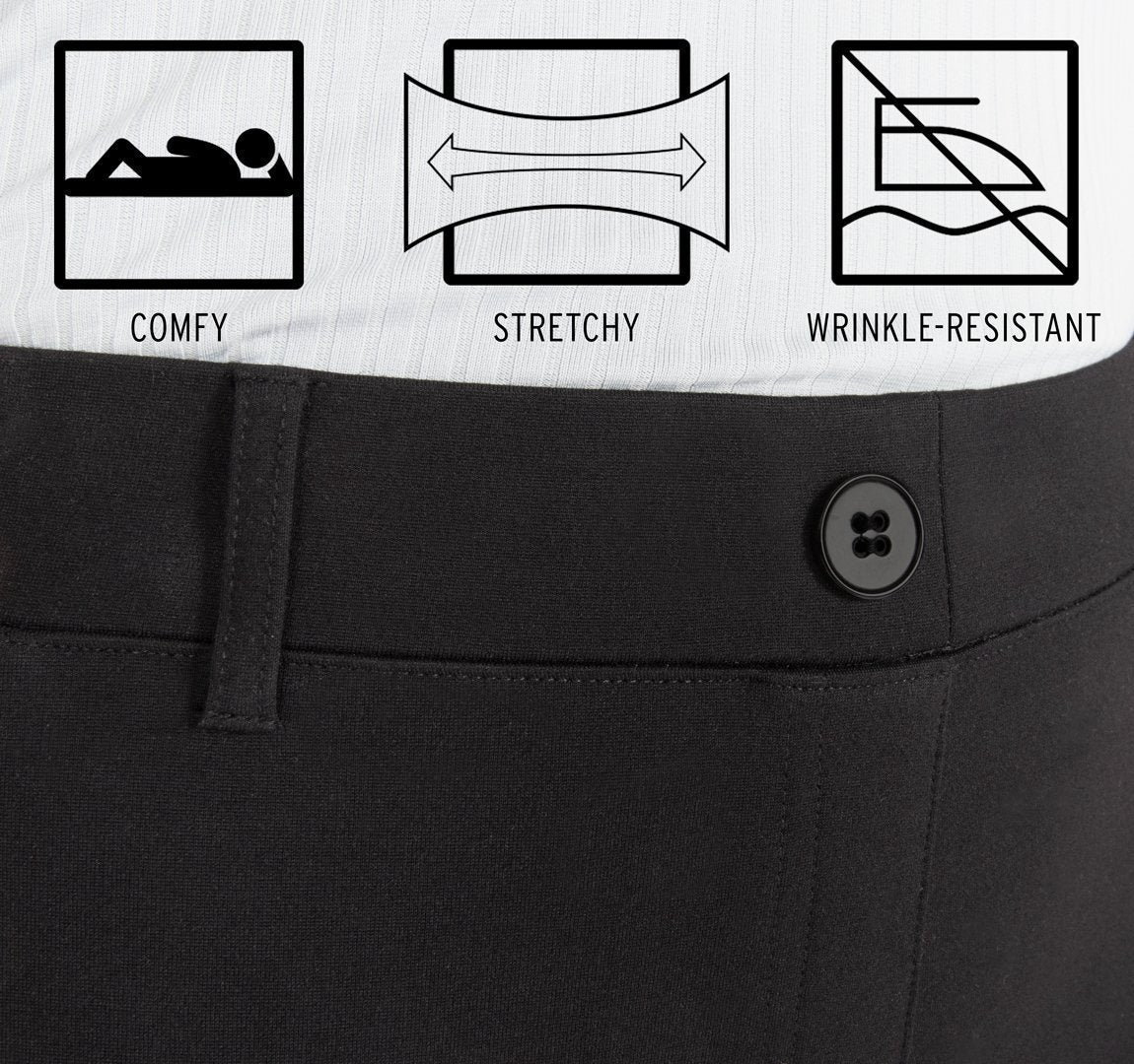 High Stretch Shaping Dress Pants