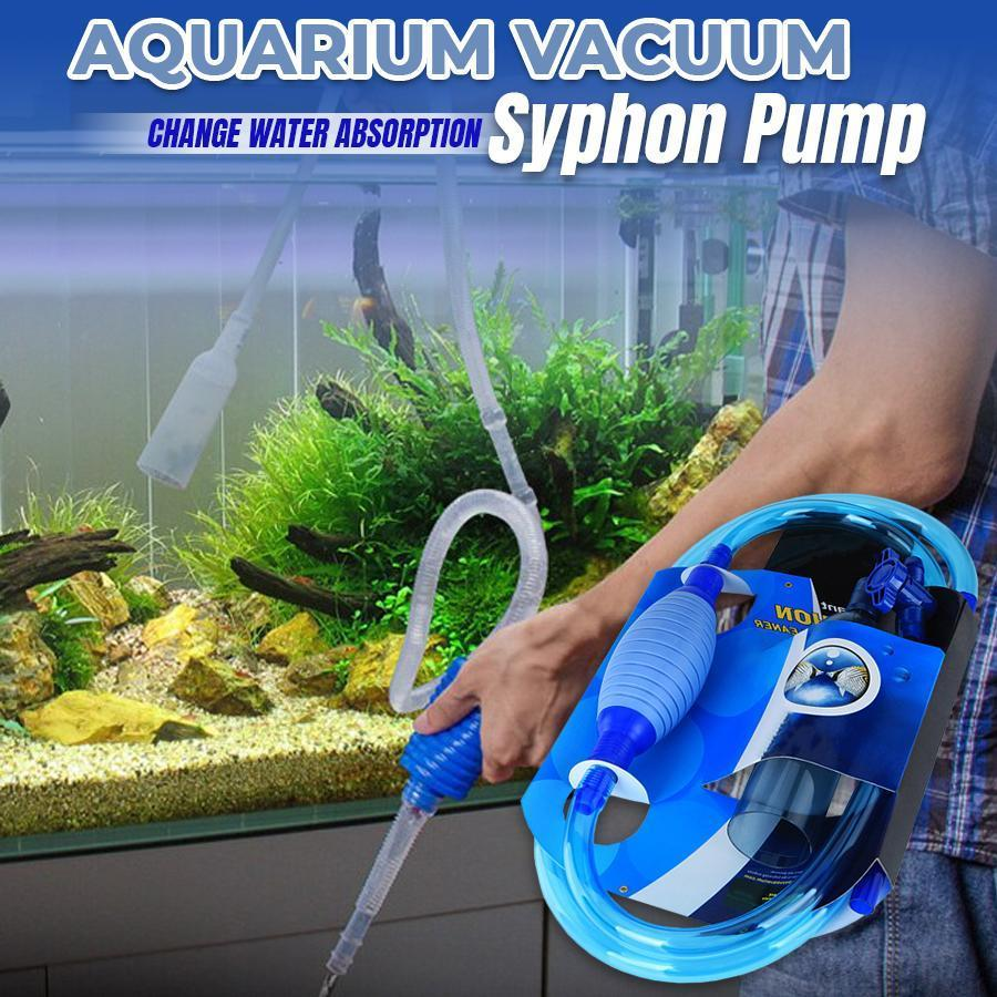 Aquarium Syphon Cleaning Pump old