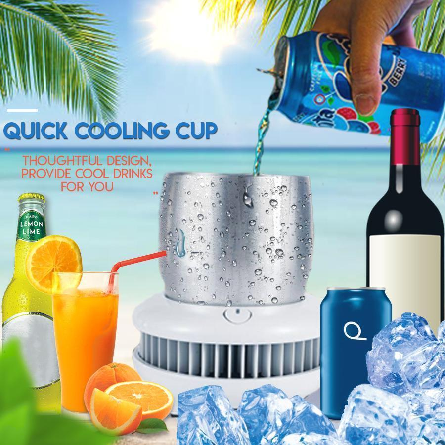 Creatively Designed Cooling Cup