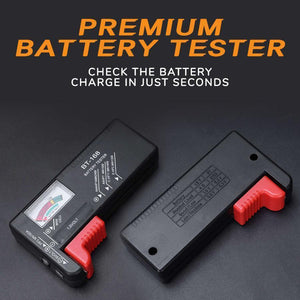 Battery Organizer with Tester