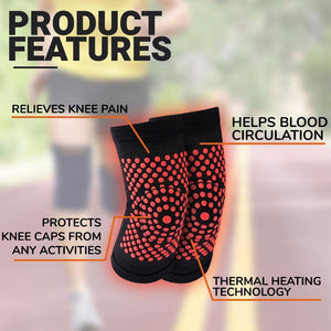 Self-Heating Knee Warmers