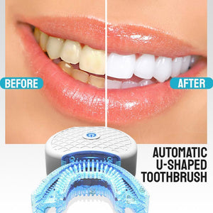 U-Shaped Ultrasonic Electric Toothbrush