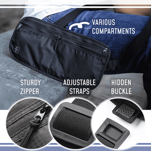 3-in-1 Anti-Theft Travel Pouch