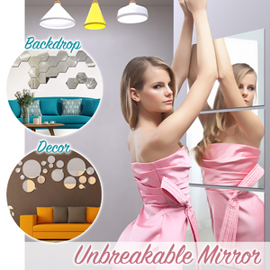 EasyDeco Mirror Wall Decals