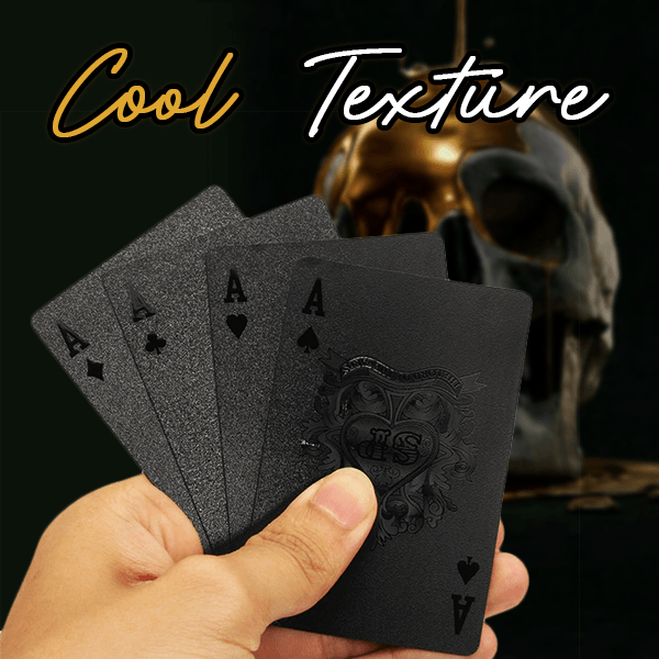 Black Diamond Skull Playing Card