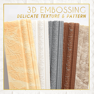3D Embossing Wall Edging Strip