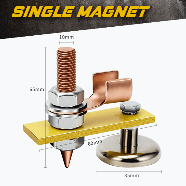 Magnetic Welding Ground Clamp