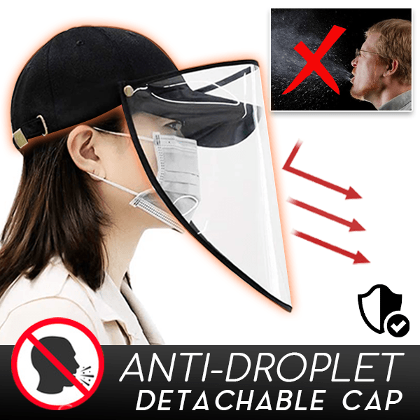 Anti-Droplet Detachable Cap