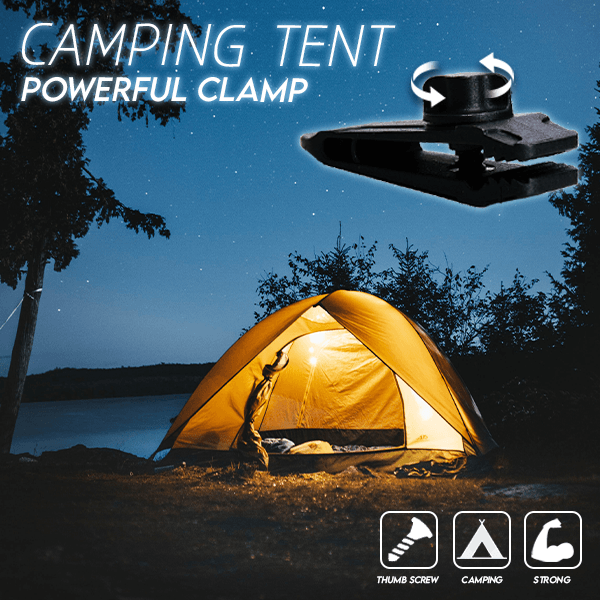 Camping Tent Powerful Clamp