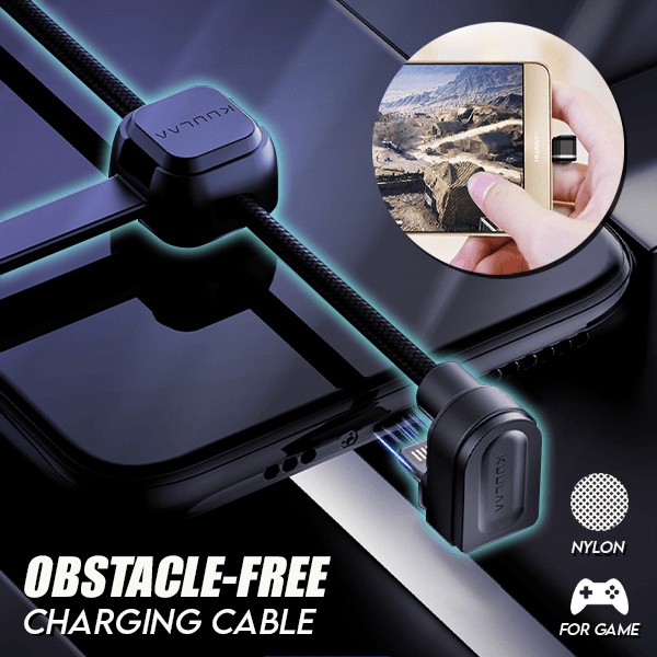 Obstacle-Free Charging Cable(2M)