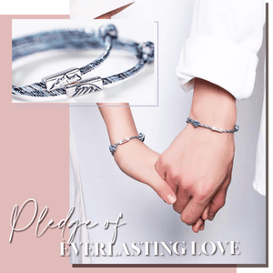 Couple Attraction 925 Silver Bracelets (1 Pairs)