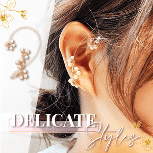 Floral Beading Ear Wraps(2 Pcs)