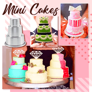 Mini Multi-Tier Cake Mold