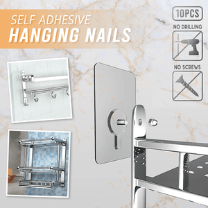 Self Adhesive Hanging Nails (10 PCS)