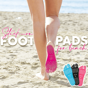 Stick-on Foot Pads For Beach (1 Pair)
