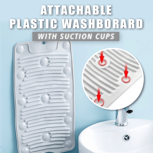 Attachable Plastic Washboard