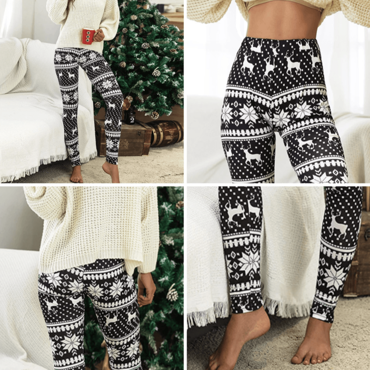 Knitted Nordic Leggings