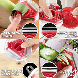All-in-1 Rotary Trio Peeler