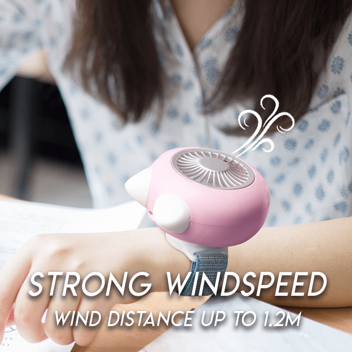 Magnetic Handheld Fan