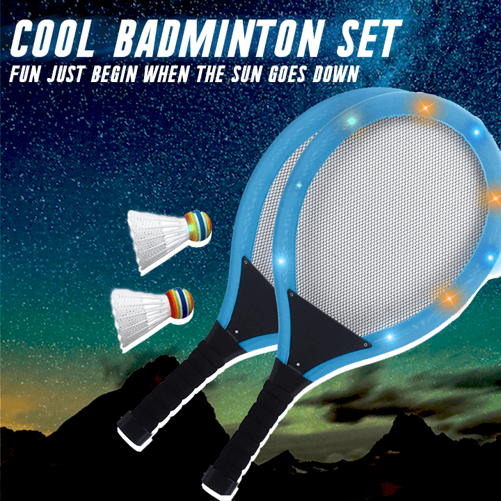 Luminous Badminton Set