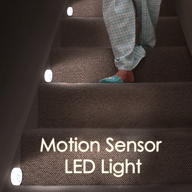 Magnetic Motion Sensor LED Light