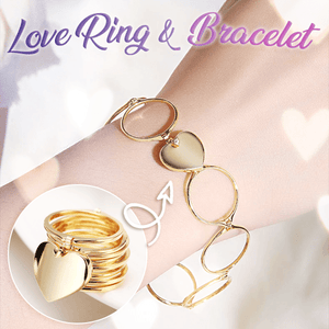 Retractable Love Ring & Bracelet