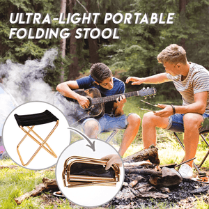 Ultra-Light Portable Folding Stool