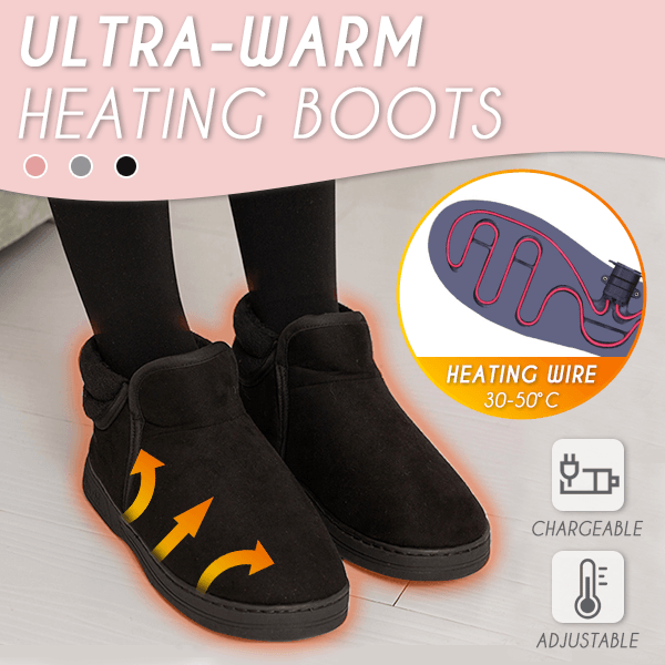 Ultra-Warm Heating Boots