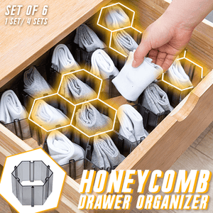 Honeycomb Drawer Organizer (Set of 6)