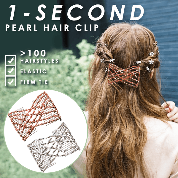 1-Second Pearl Hair Clip Set (BUY 1 GET 1 FREE)