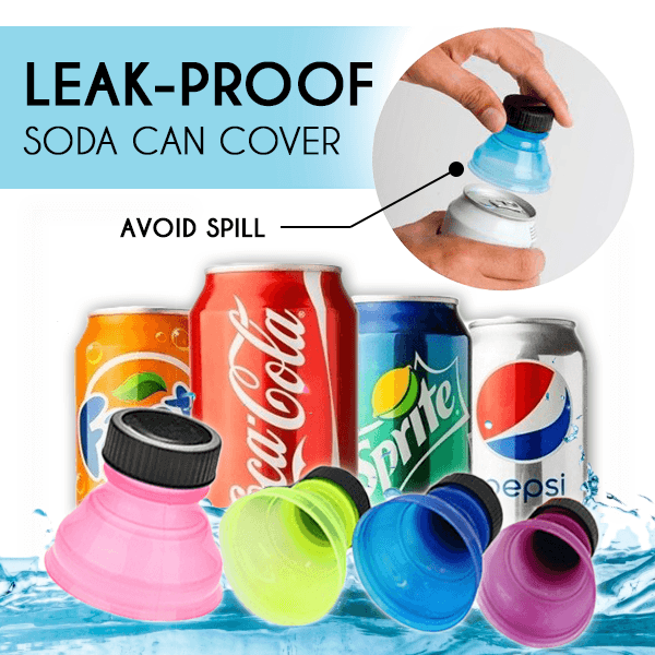 Leak-proof Soda Can Cover