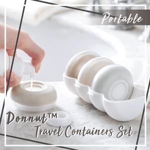 Donnut™ Portable Travel Containers Set