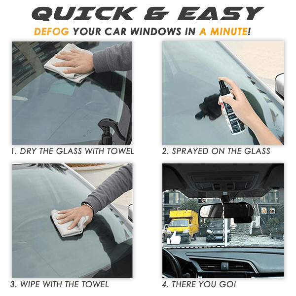 Glass Anti-Fog Spray