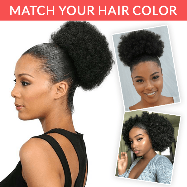 Women High Puff Ponytail