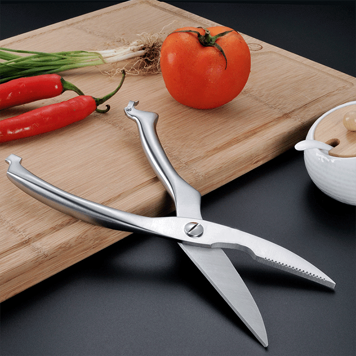All In One Stainless Kitchen Scissors