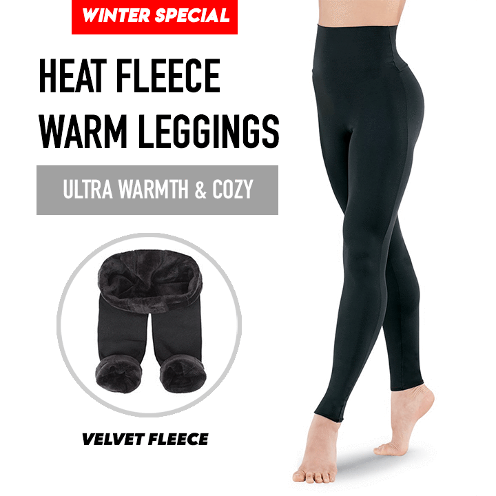 Heat Fleece Warm Leggings