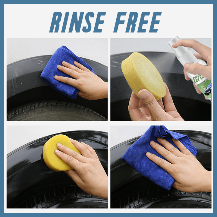 SuperClean™ Rinse-Free Car Cleaner