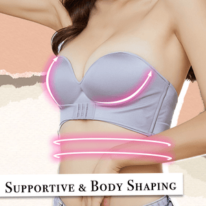 Front Closure Strapless Bra