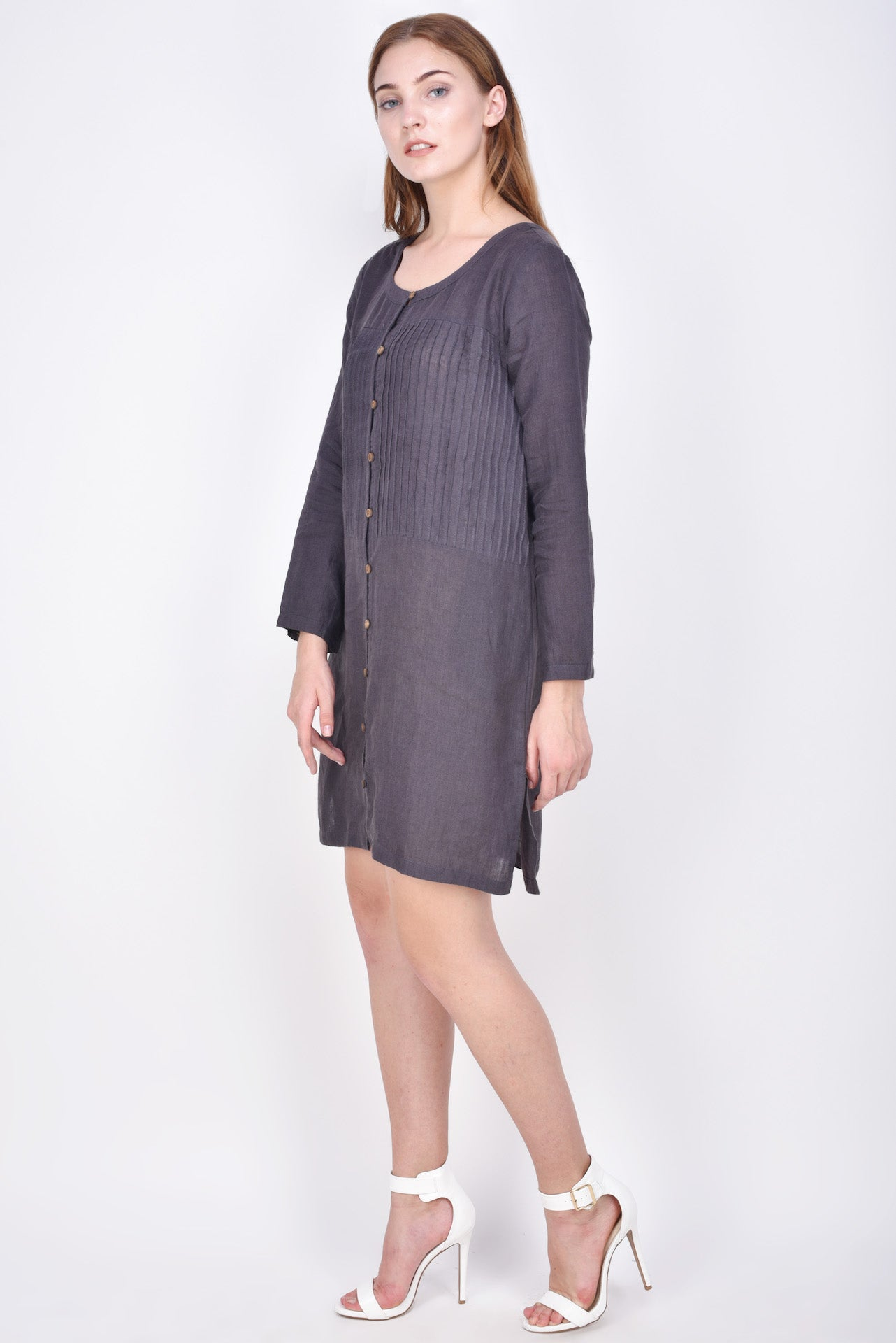 The Barbery Linen Dress