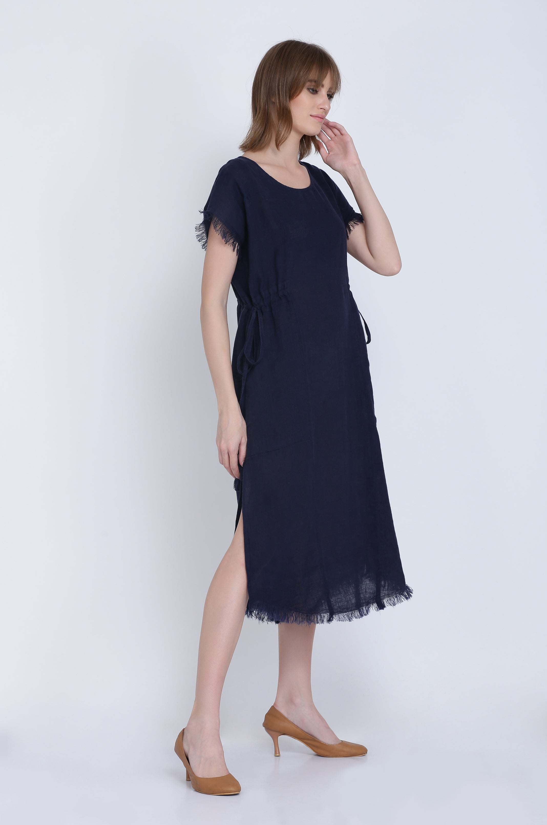 The Mila Linen Dress