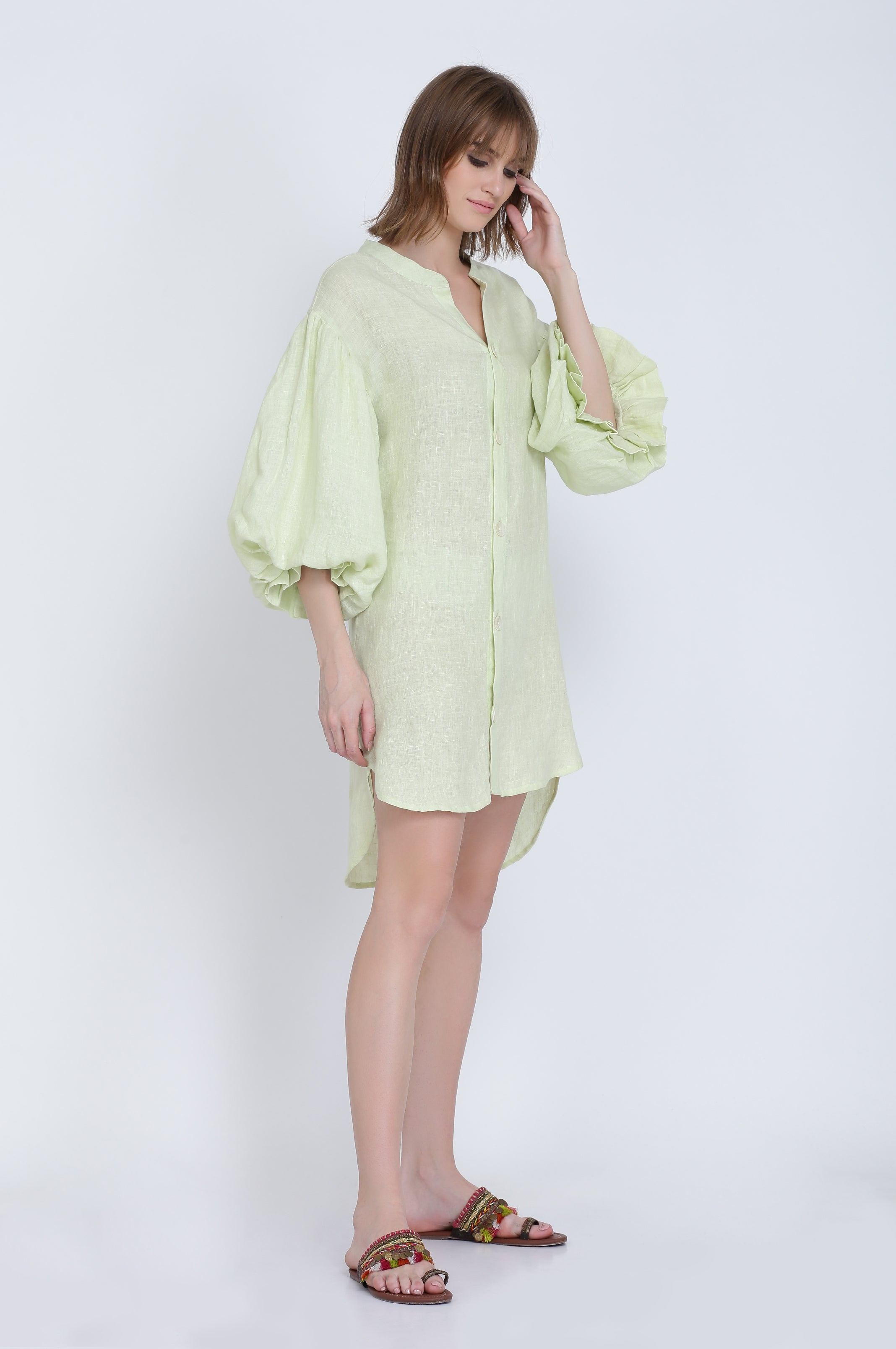 The Dewey Linen Dress