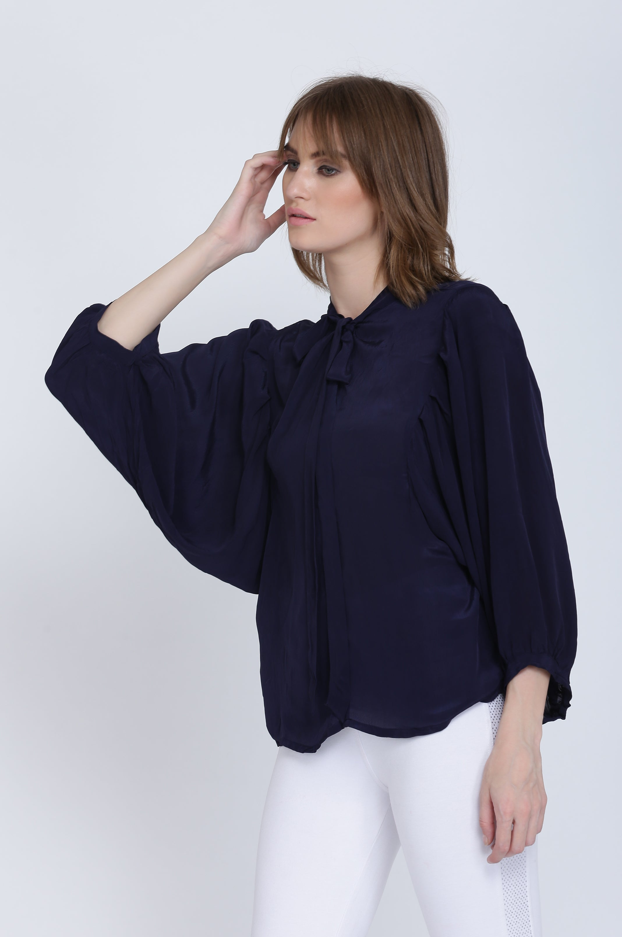 The Esha Crep Top