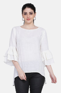 The Ivy Linen Top